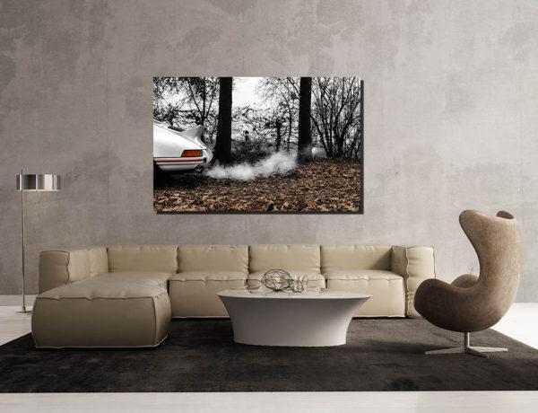 Tableaux Plexi Voiture Porsche