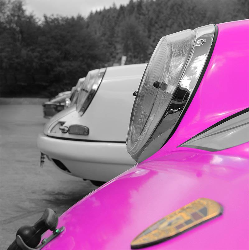 Toile Art Porsche Couleur