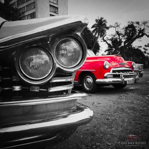 Toile Voiture Cuba