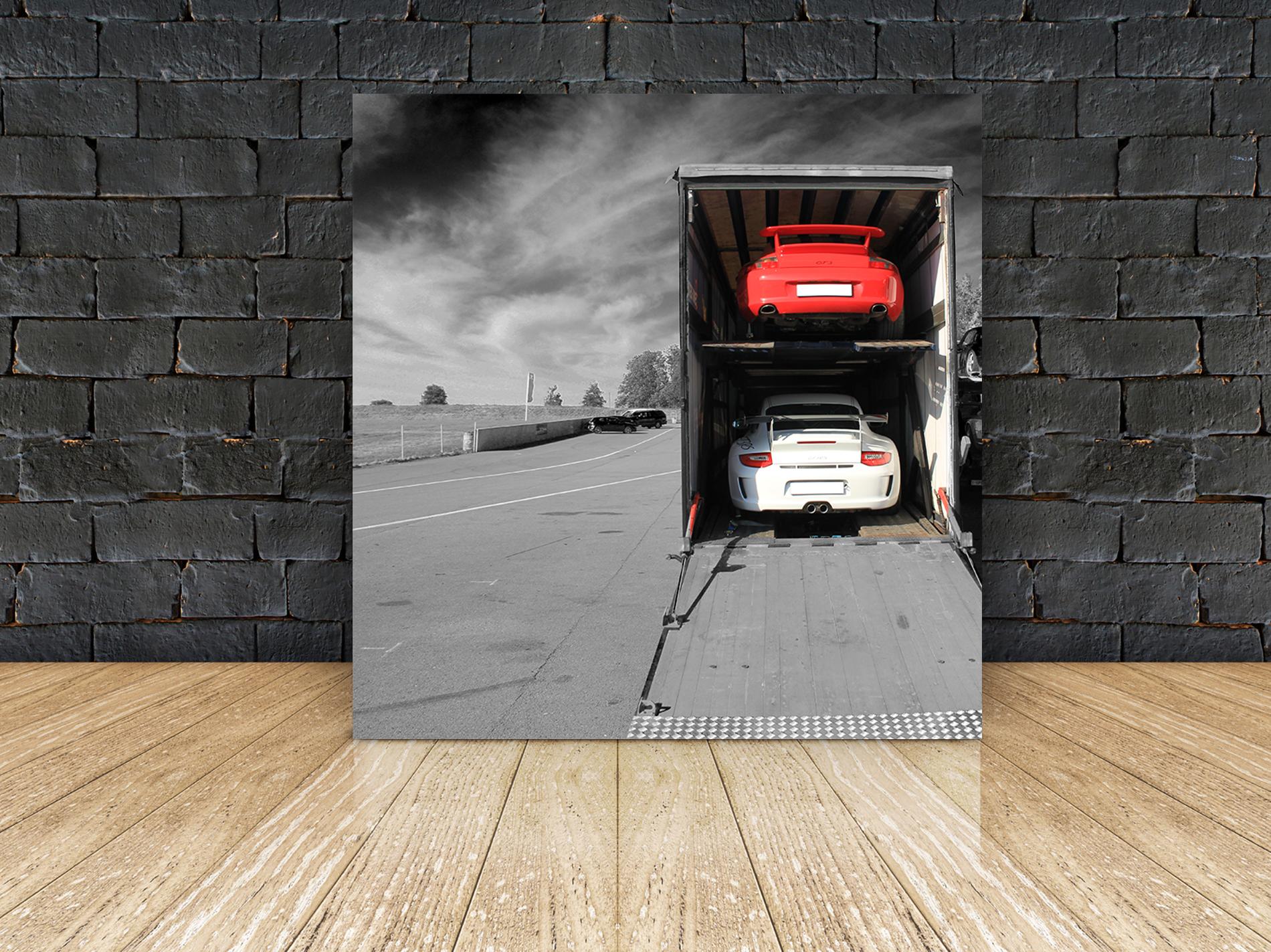 Toile deco Porsche
