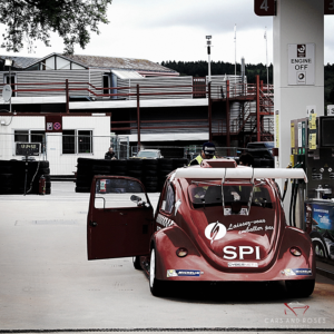 VW Fun Cup at the gas station - Old School