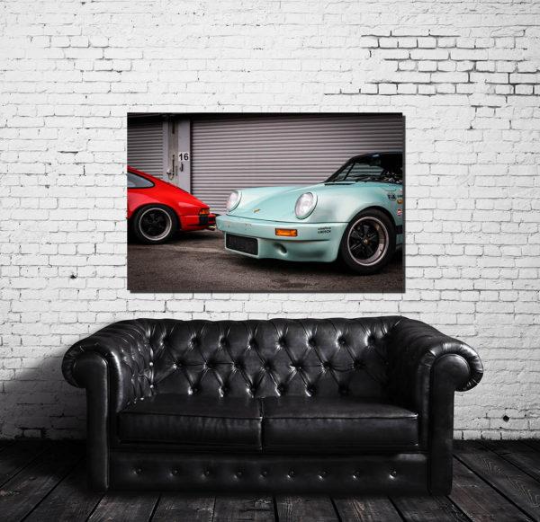 Décorations Murales Porsche