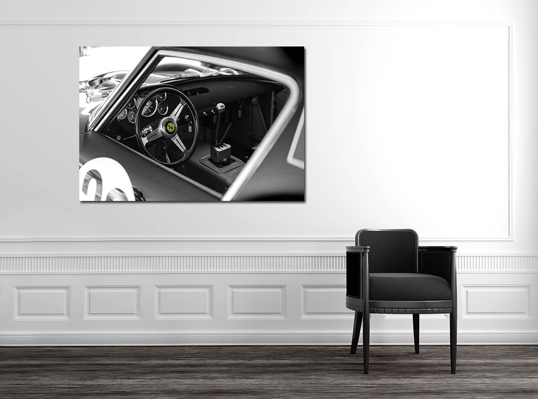 tableau deco ferrari voiture cars and roses. Black Bedroom Furniture Sets. Home Design Ideas