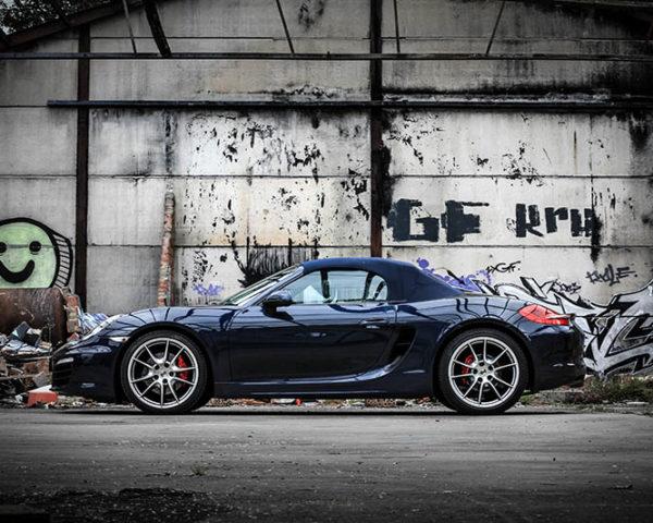 Toile voiture de course Porsche