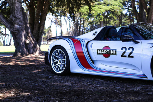 Tableau Déco Voiture Porsche 918