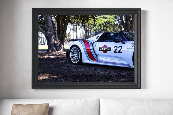Tableaux Déco Voiture Porsche 918