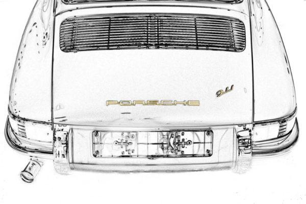 Art Porsche 911 Classic
