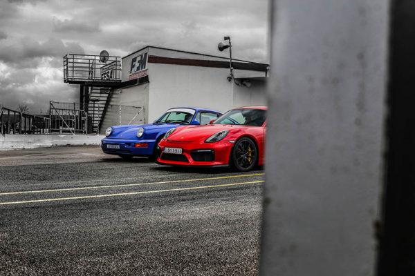 Tableau Contemporain Voiture Porsche GT4