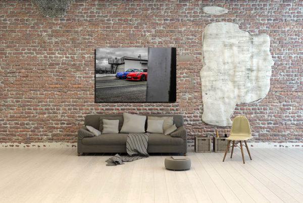 Tableaux Contemporain Voiture Porsche GT4
