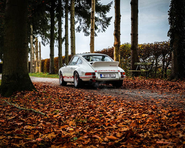 Photographie Porsche Carrera RS