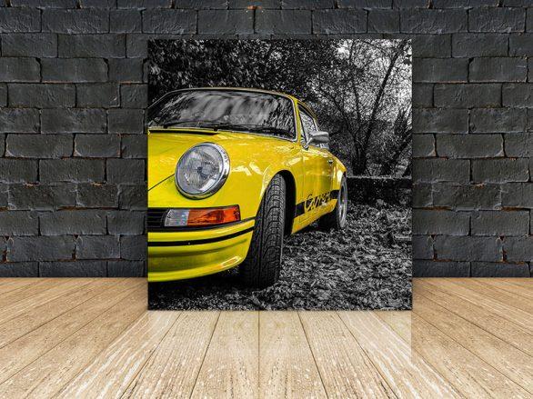 Photos Porsche Carrera RS Jaune