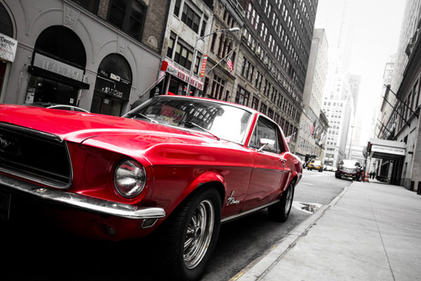 Photographie Ford Mustang à New York