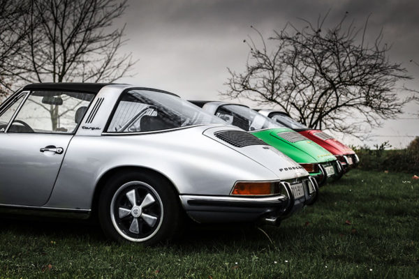 Photo de Vieille Porsche Targa