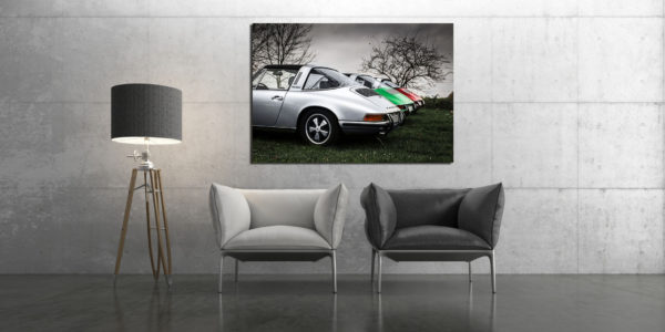 Photos de Vieille Porsche Targa