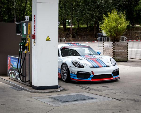 Photographie Porsche Cayman GT4 Martini