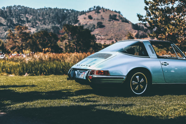 Photographie Ancienne Porsche 911