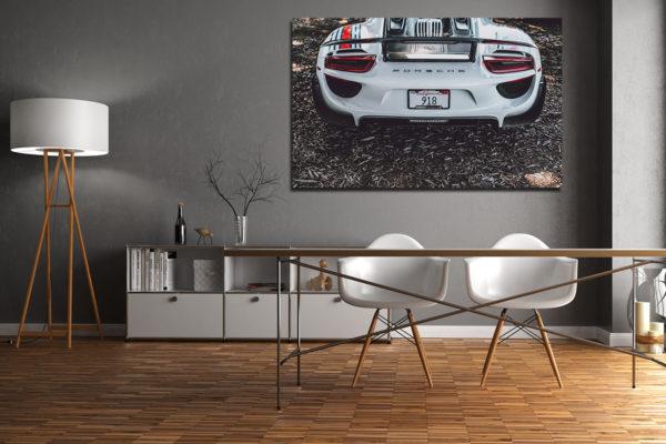 Photographies Porsche 918 Martini