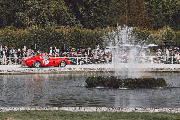 Photo Ferrari 250 GTO à Chantilly