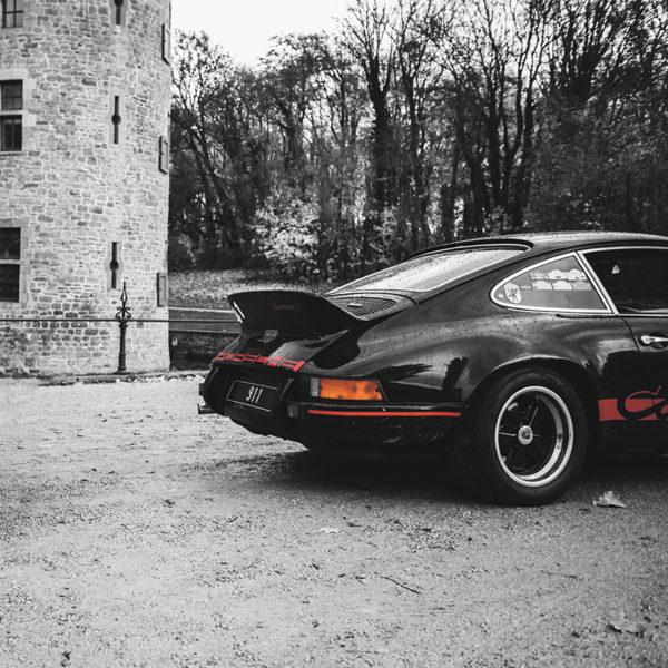 Photo Vieille Porsche Carrera RS