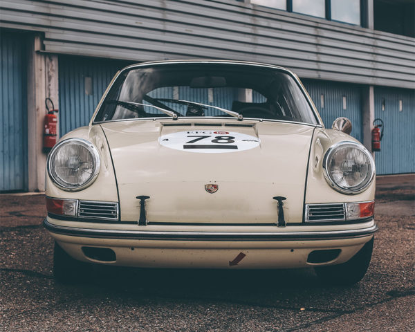 Photographie Porsche 911 Classique Blanche