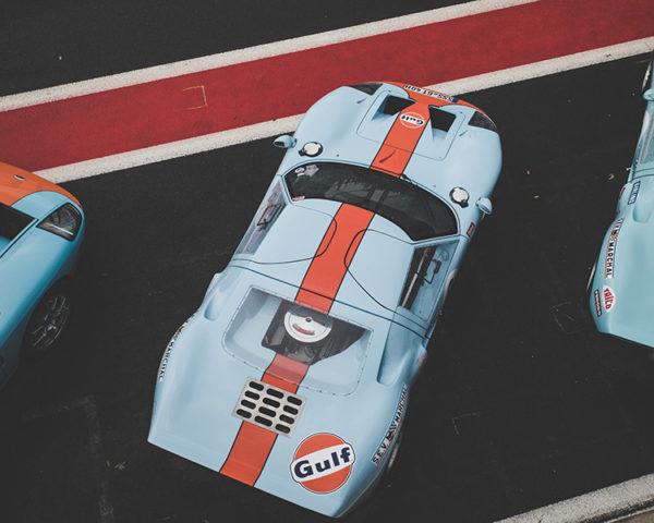 Photographie GT40 GULF