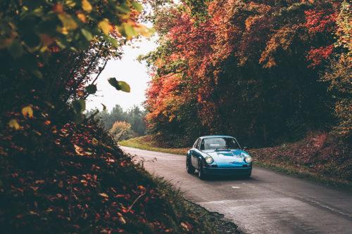 Photographie Porsche 911 Classic Automne