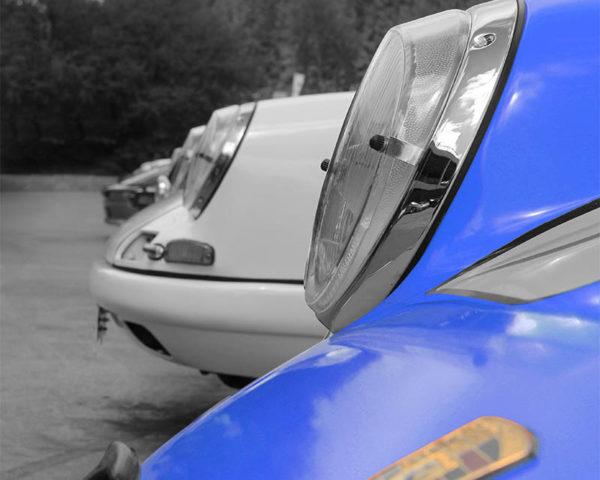 Art Toile Porsche Couleur