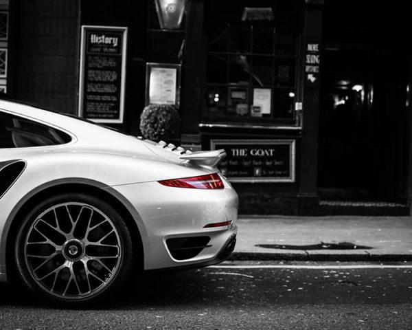 Cadre Décoratif Photo Voiture Porsche