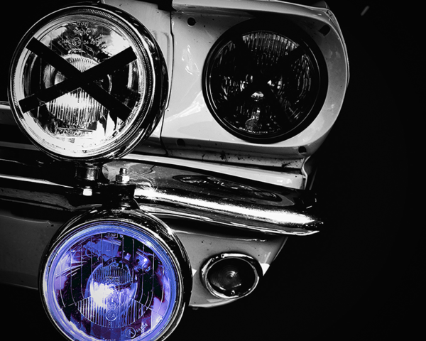 Ford Mustang HeadLights