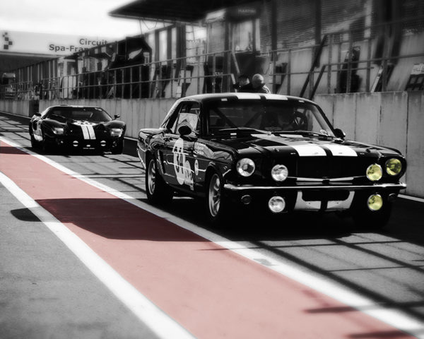 Muscle Cars - GT40 & Ford Mustang