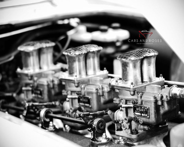 Photo Toile Moteur Ferrari