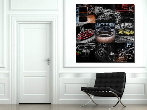 Pop Art Muraux Ford GT40