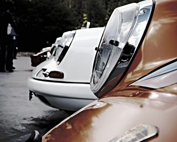 Porsche 901 Gulf Headlights