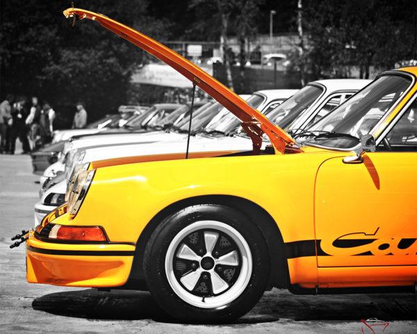 Porsche 911 Carrera RS 2.7 Hood Open