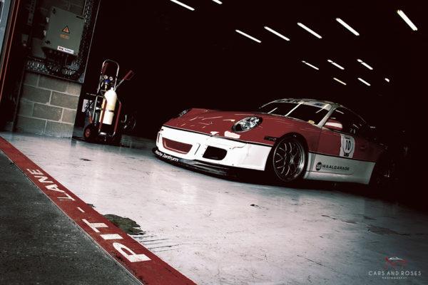 Porsche 911 GT3 with the Pit Lane Mark