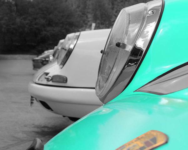 Tableau Photo Art Porsche