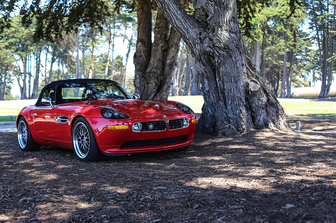 Tableau photo voiture bmw z8 cars and roses - Image voiture bmw ...