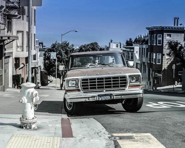 Tableau Photo Voiture vieux Ford