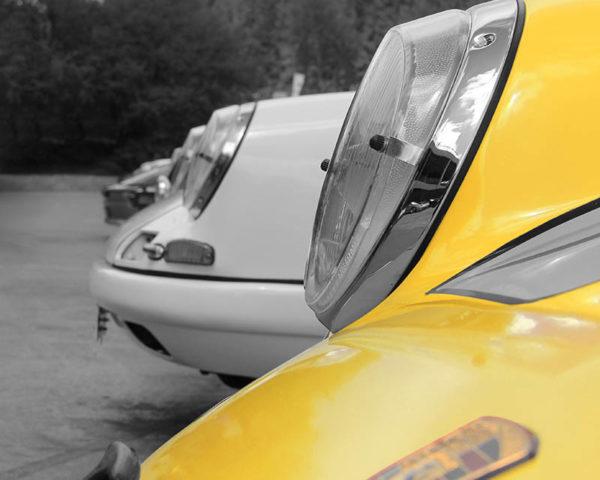 Tableau Plexi Art Porsche