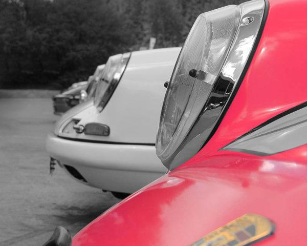 Tableau Toile Porsche Art