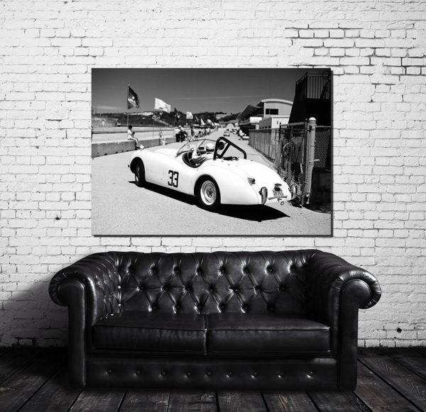 tableaux déco murale vieille voiture
